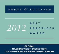 2012 Frost & Sullivan Best Practices Award