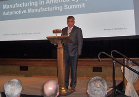 Raj Batra, president of Siemens' Industry Automation Solutions division