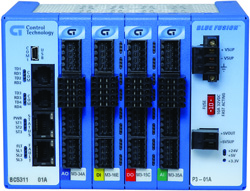 Control Technology's Compact rack-style Model 5300 PAC