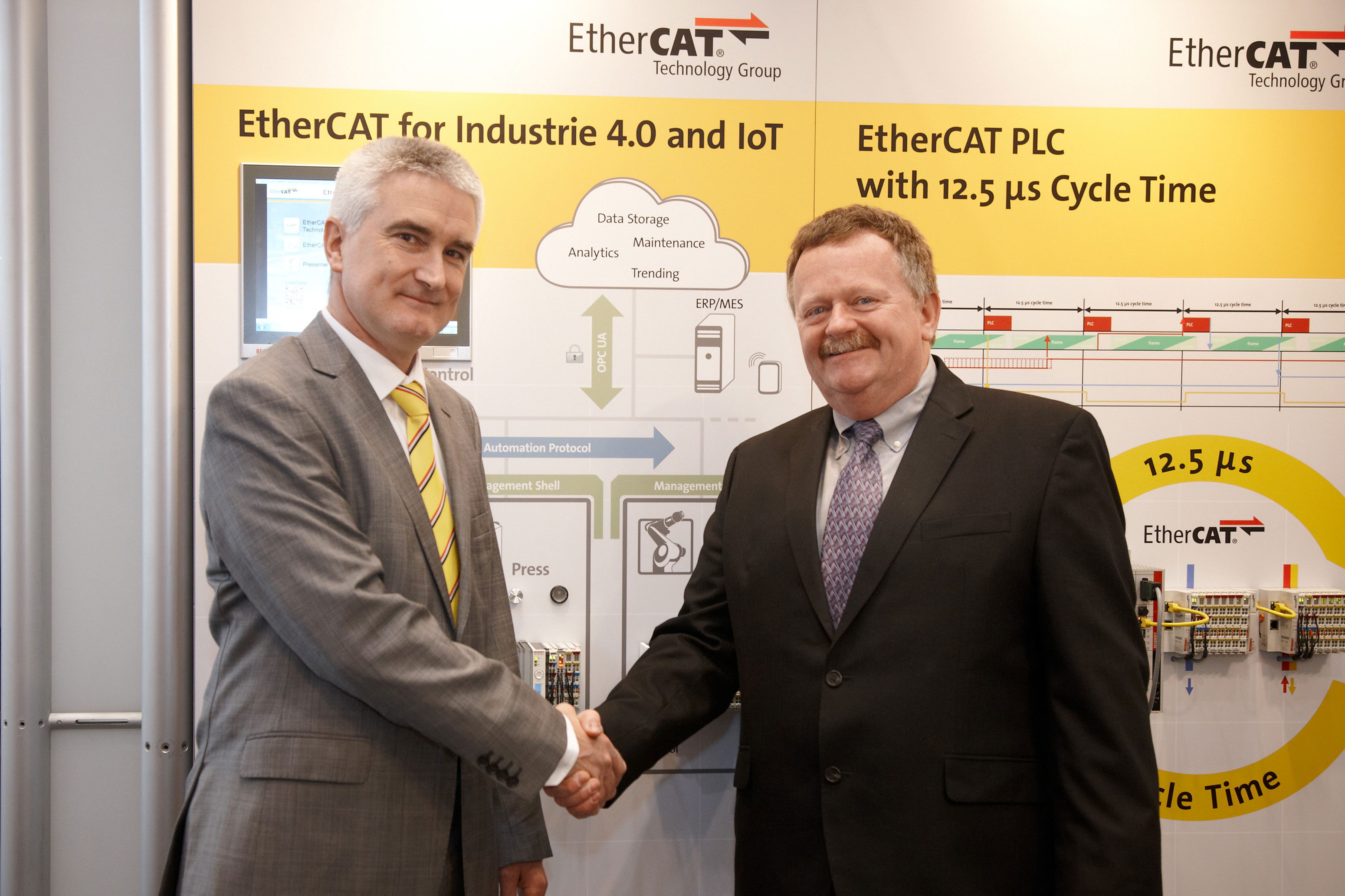 EtherCAT Technology Group and OPC Foundation join forces for common IoT interfaces