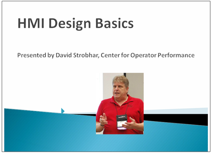 HMI design basics