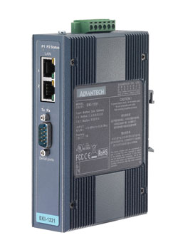 Advantech Industrial Automation's EKI-1221D and EKI-1222D gateways