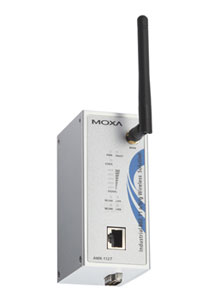 Moxa's AWK-1121 and AWK-1127 Dedicated IEEE 802.11a/b/g WLAN