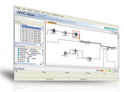 Moxa Americas' MXview v. 2.2 industrial network management software