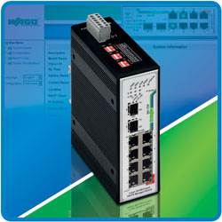 Wago's Industrial managed Ethernet switches
