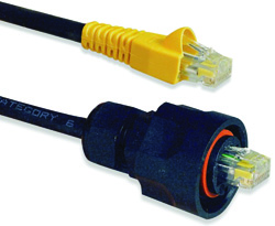 Siemon's Cat. 5e Industrial Max patch cords