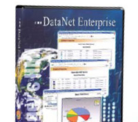 DataNet Enterprise Web-based enterprise monitoring system offers the basic functionality of an ERP tool or MES.