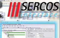 CoDeSys independent IEC 61131 programming tools configure SERCOS III devices from different vendors.