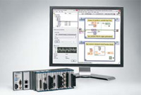 LabView 8.6 graphical design software platform has a rapid programming model for direct FPGA customization of applications ranging from machine control to integration of complex measurements