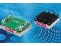 TEP-100 isolated DC/DC converter modules are used where PCB mounting is not an option.