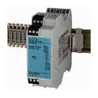 RNB130 primary switchedmode power supply comes in a 35-mm-wide DIN-rail-mount housing per IEC 60715.