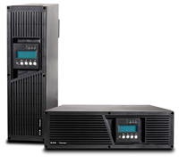 Model 9135 5 kVa and 6 kVa UPS meet the demands for mission-critical computer networks in medium-density power centers and comes in a 3U (5.14 in.) enclosure.