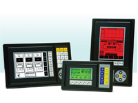 C-more micro-graphic panel line includes a 6-in, touchscreen with a 320x240 pixel graphic display that supports bitmap files.