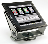 Exter T150-bl-sr HMI tailored for outdoor use offers the same functionality and configuration software as the standard Exter HMIs but can be viewed in the direct glare of sunlight.
