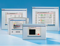 IndraControl VEP HMI with embedded Windows CE provides PC power and functionality with flash card technology for applications such as machine startup, inputting values, jogging axes, recipe management and supervisory level HMI functions.