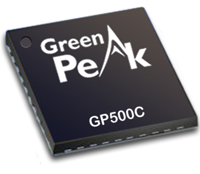 GP500C communication controller chip is a low power transceiver-centric communications controller chip for wireless sensor networks.
