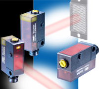 Series 14 photoelectric sensors are now available with a transparent rear housing section that allows the sensor's interior to be observed, enabling viewing of operating and reception LEDs from practically every angle.