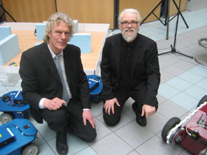 Dr. Jacques Penders and Noel Sharkey