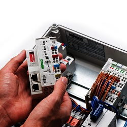 Controllers: Wago Compact PLC with onboard web server