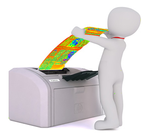 thermal print NAV